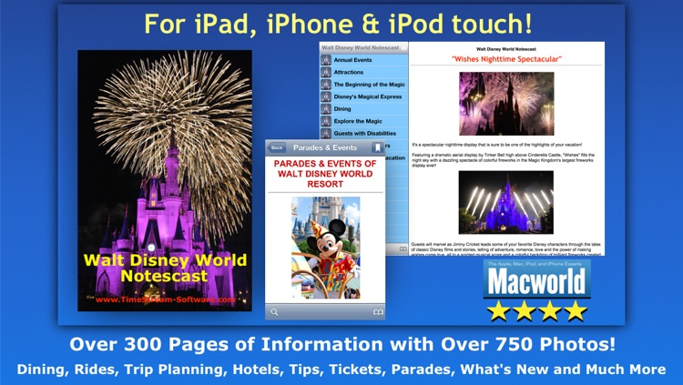 """Walt Disney World Guide"" Notescast"