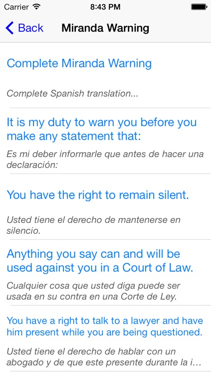 Spanish For Police - Audio Phrasebook