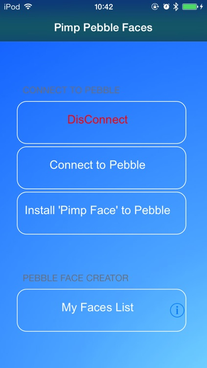 Pebble Faces Creator - Build and Create Unlimited Faces for Pebble SmartWatch screenshot-1
