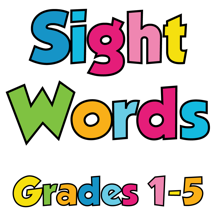 Sight Words Grades 1-5