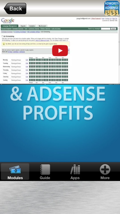 Adwords & Adsense PPC Profits PRO - for Google How To Earn Money Online Working From Home screenshot-3