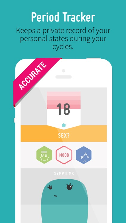 Period Tracker with Mood, Fertility & Birth Control Pill Diary with Reminder screenshot-0