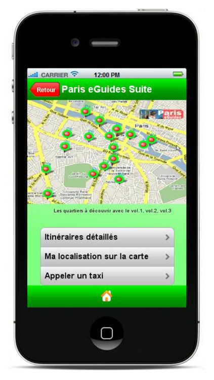 Paris Guide - MP3 and video tours, Sorbonne, Luxembourg Garden..., metro screenshot-4