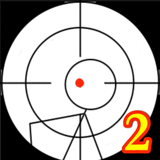 A Stickman Sniper 2: Doodle War Free icon