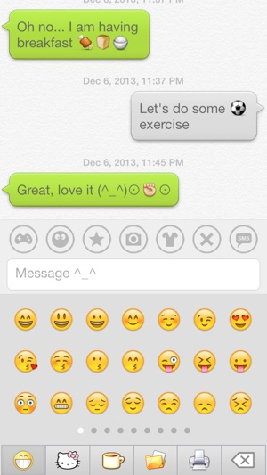 Dream Emoji 2 Talk With Emoticon Smiley Face In Emoji Keyboard