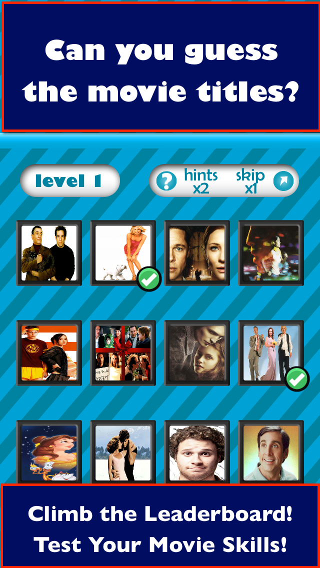 QuizCraze Movies Logos– a word pic color quiz game to guess what's that pop movie icon! screenshot three