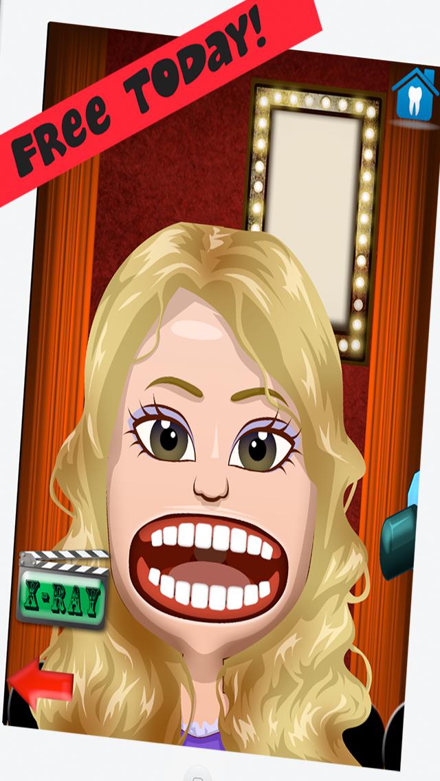 Celebrity Dentist Office Teeth Dress Up Game - Fun Free Nurse Makeover Games for Kids, Girls, Boysのおすすめ画像1