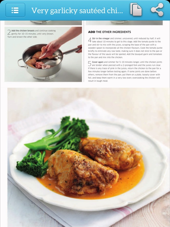 Cooking Recipes Step by Step Cookbook - iPad Version screenshot-4