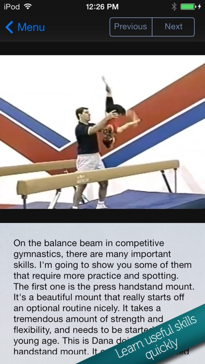 Learn Gymnastics: Advanced screenshot-3