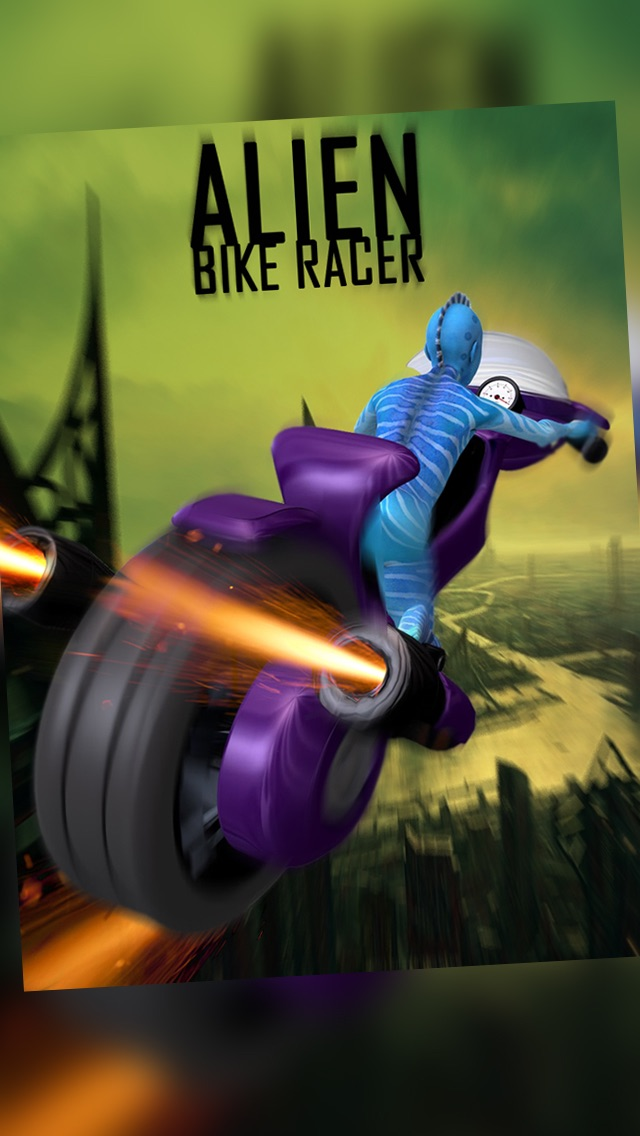 Alien Space Racer (A Free Bike Racing Game)