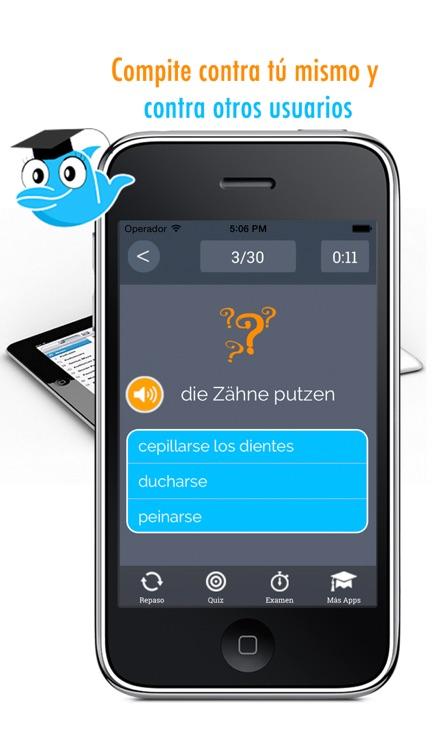 Learn German and Spanish Vocabulary: Memorize Words - Free screenshot-4
