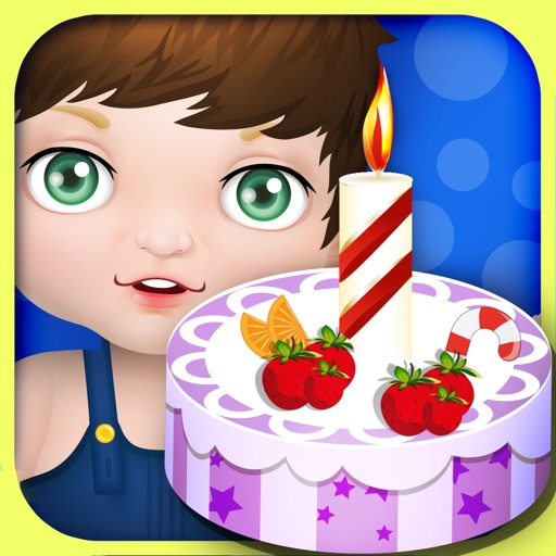 Baby Birthday Cake Maker - cooking games