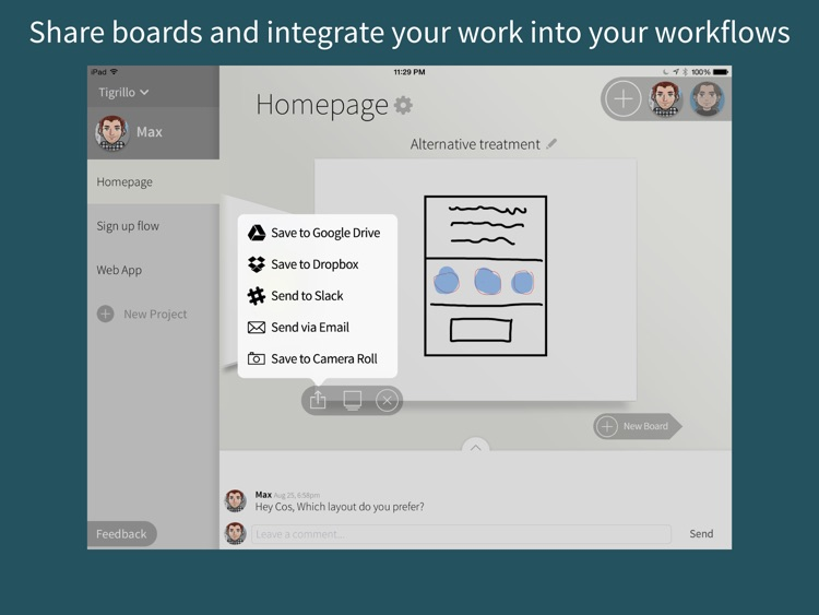 Quill - Collaborative Drawing and Wireframing for Teams screenshot-4