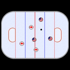 Activities of Finger Ice Hockey Game