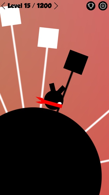 Ninja Hero - Circle Madness - Mobile Edition screenshot-4