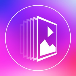 Slideshow Maker Square - Video Slideshow Generator with Photos Musics and Text Captions for Instagram