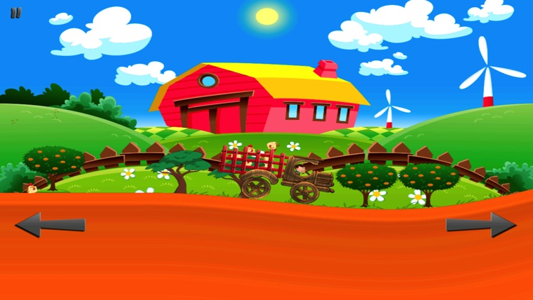 Chicken Farm - My Tiny Tractor Racing Game For Kids screenshot-3