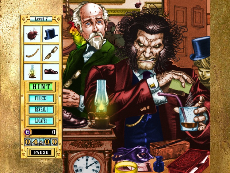 Hidden Object Game FREE - Dr. Jekyll and Mr. Hyde screenshot-4