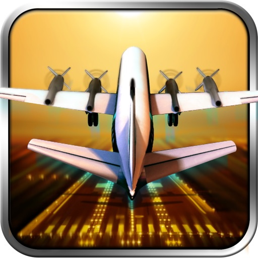 Classic Transport Plane 3D - Airport Jumbo Jet Simulator Parking Game