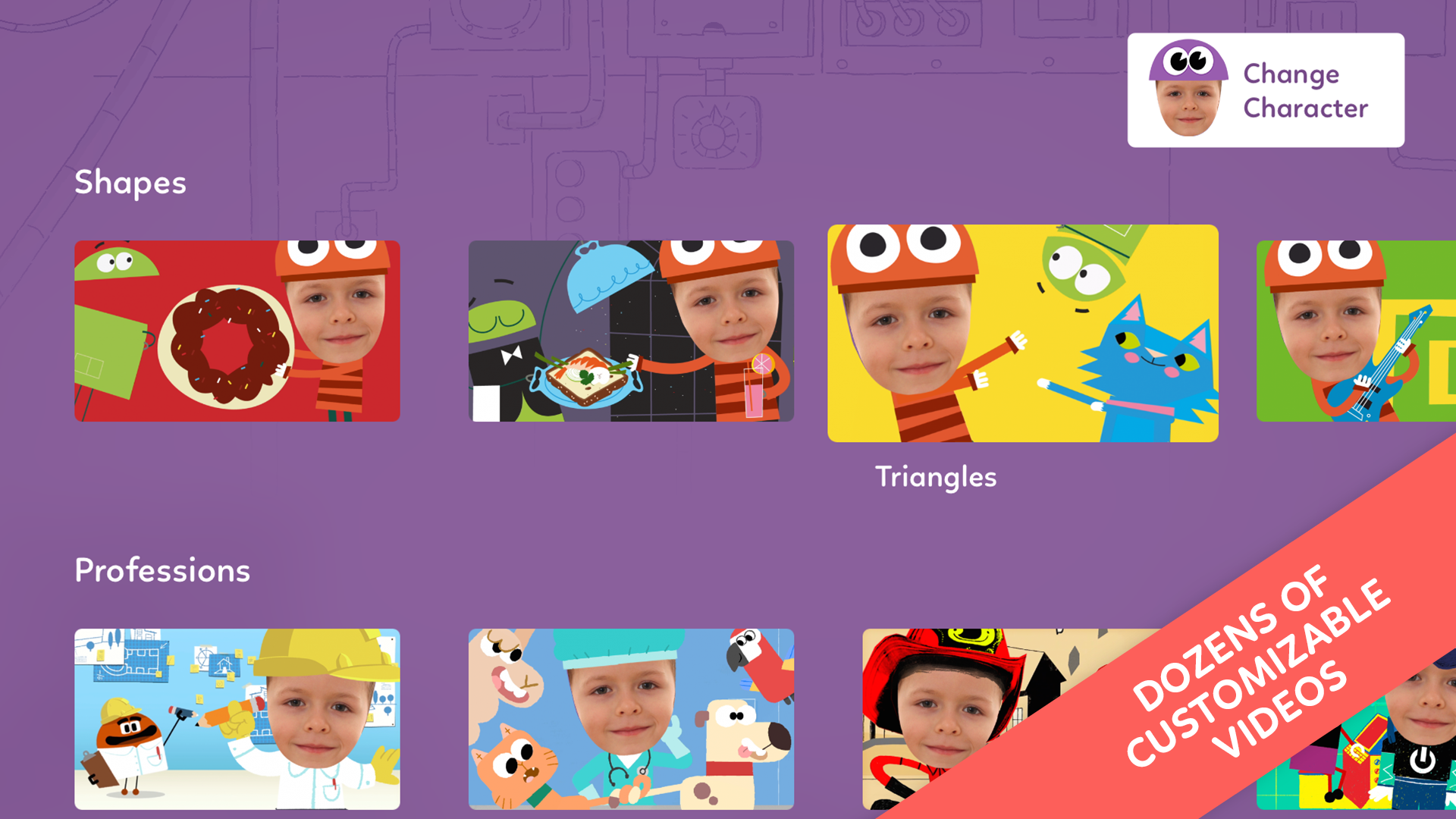 StoryBots – Learning Books, Videos and Games Starring Your Child! screenshot 8