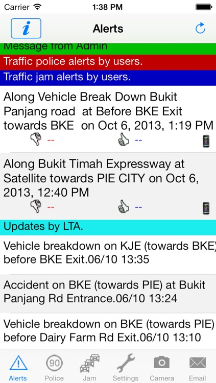 TrafficAlert screenshot-0