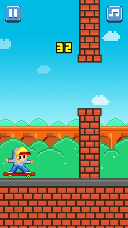 Tiny Skateboarders – Play Free 8-Bit Pixel Games