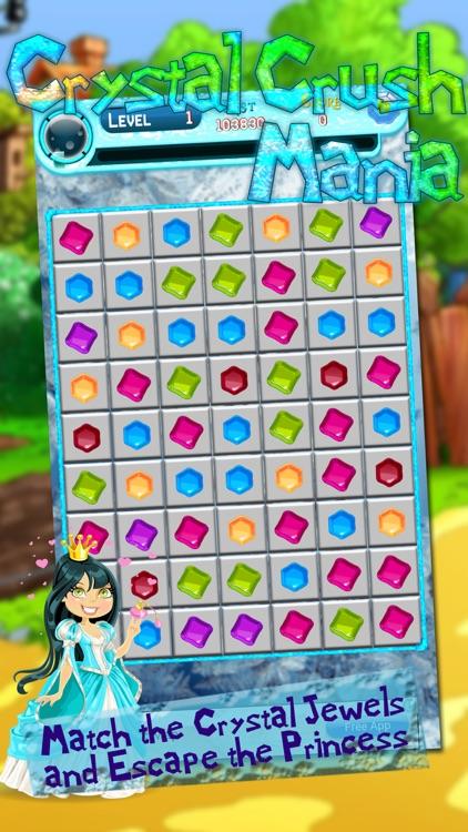 Crystal Crush Mania screenshot-3
