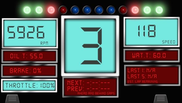 iHUD for iRacing . Virtual Dashboard for iRacing screenshot-3