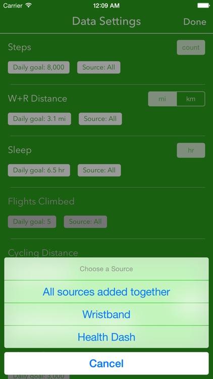 Dashboard for Apple Health App screenshot-3
