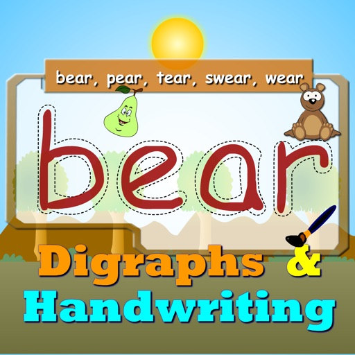 Digraphs Writing pad and Spellings For Preschoolers