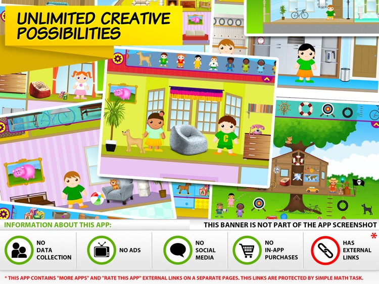 Little House Decorator - creative play for girls, boys and whole family screenshot-4
