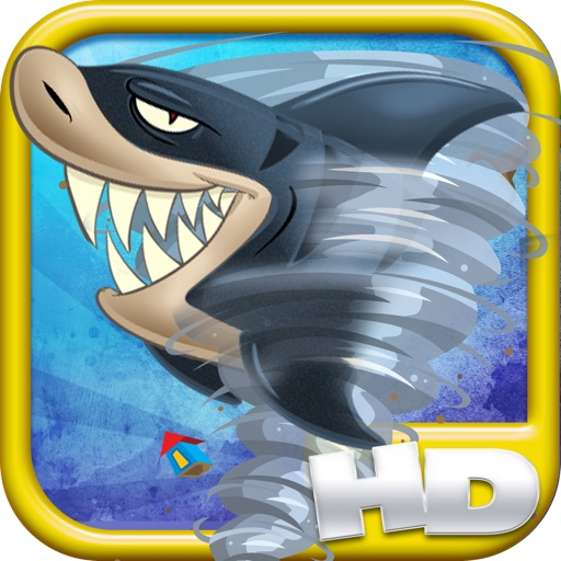 A Shark Tornado HD - Dangerous Splash Down - FREE Shooter Game!