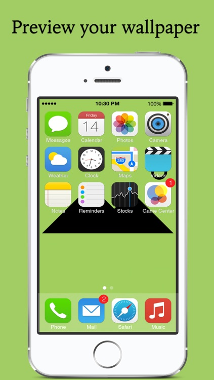 WallFit - Fix wallpaper for iOS7 custom home screen, lock screen & background  and Rotate, resize and position your pictures to make custom wallpaper screenshot-3