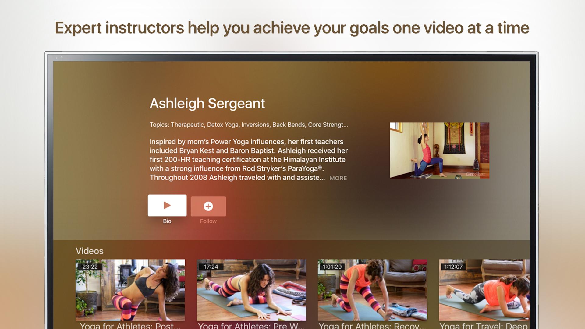 Grokker: Yoga, Fitness, Mind screenshot 17