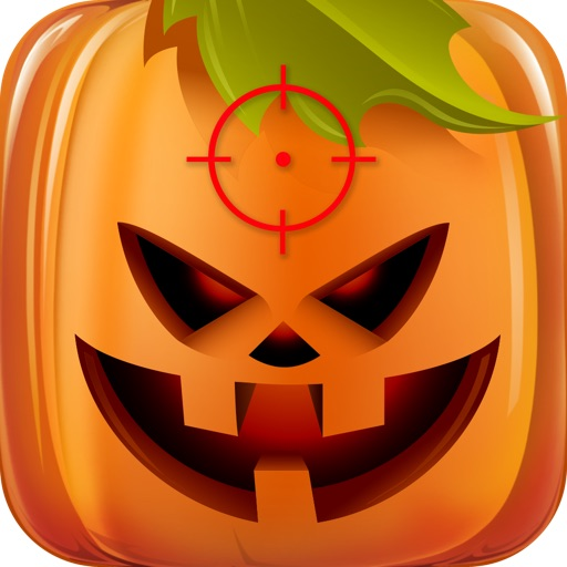 Halloween Season Shooter HD Free - Shoot Witch, Vampire, Zombie, Mummy and Ghost and Save All Pumpkins in This Action & Arcade Game icon