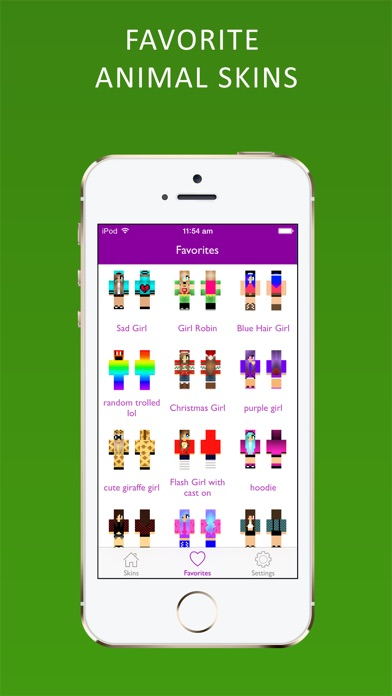 点击获取Best 3D Animal Skins for Minecraft PE