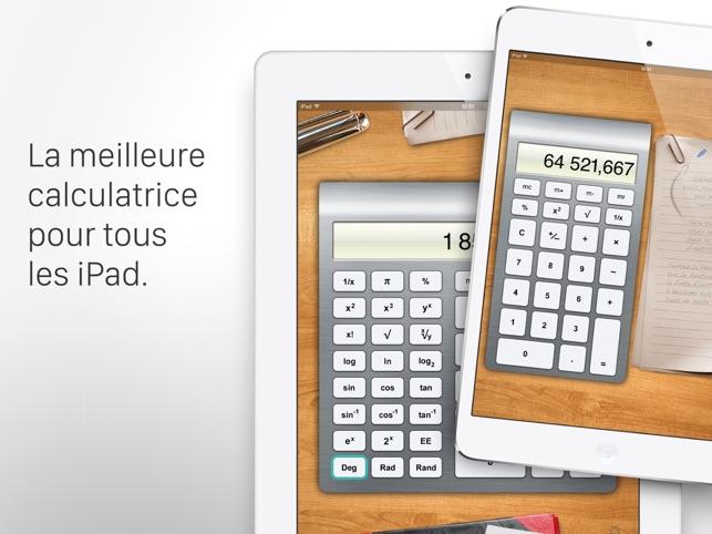 calculatrice hd pour ipad dans l app store. Black Bedroom Furniture Sets. Home Design Ideas