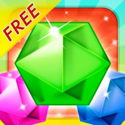 Gem Blaster Blitz Free Multi-player Falling Puzzle Bubble Shooter Diamond Jewel Adventure : Best Fun Skill Challenge Your Friends!