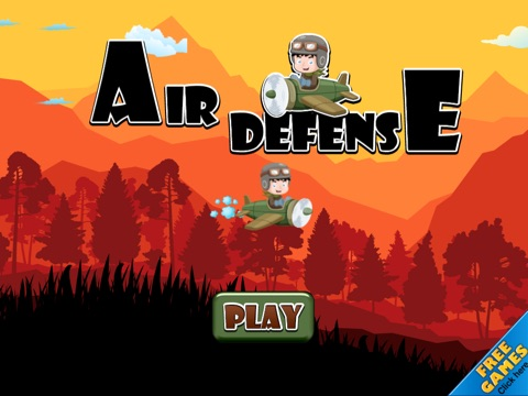 Screenshot #1 for Air Defense - Cannon fire takedown