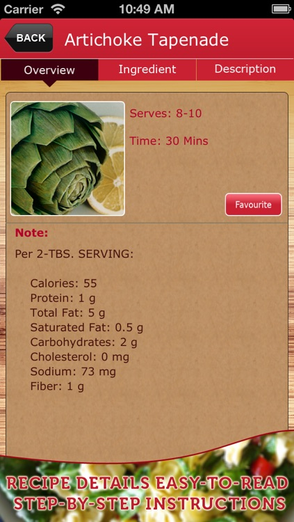 Country Recipe Book Lite screenshot-3