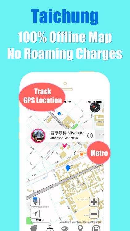 Taichung travel guide and offline city map, Beetletrip Augmented Reality Taiwan Metro Train and Walks screenshot-3