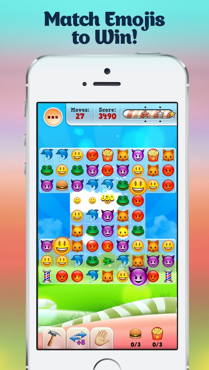Happy Daze - Match 3 Puzzle Game with Emoji Keyboard Characters