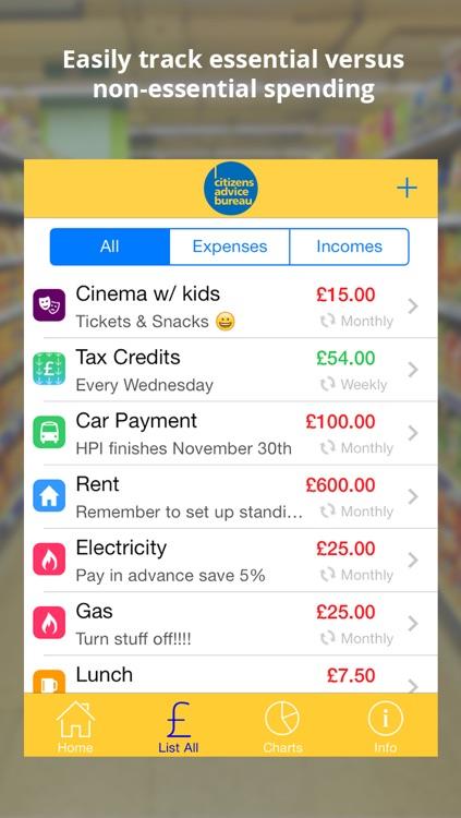 Budget Tracker - CAB screenshot-3