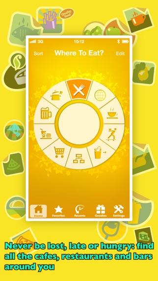 Screenshot for Wo Essen? PRO - Restaurants mit GPS finden in Switzerland App Store