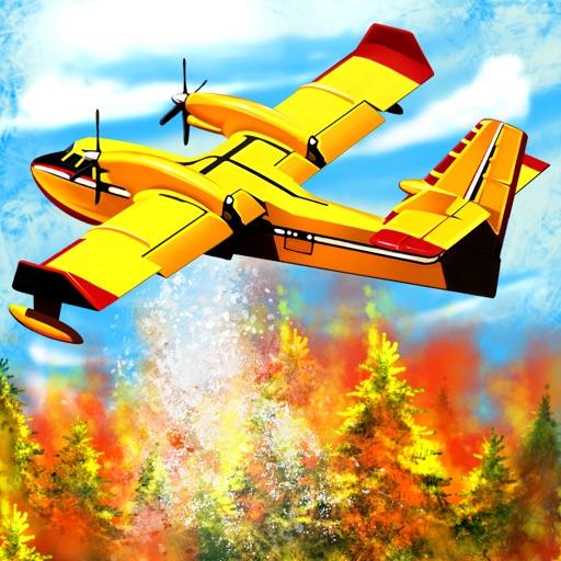 Airplane Firefighter - Real Fire Fighter Pilot 3D Flight Simulator