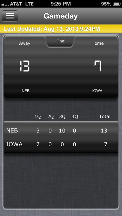 Iowa Football Live screenshot-4