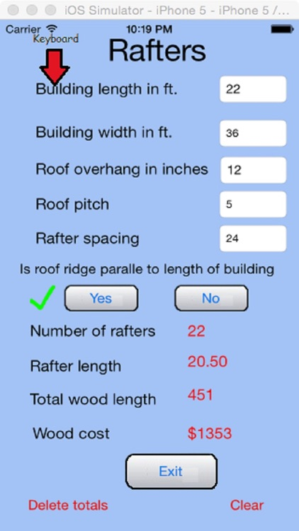 Construction Estimator screenshot-3