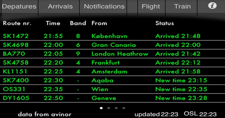 Flightboard screenshot-1