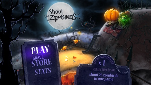 Shoot The Zombirds Screenshot