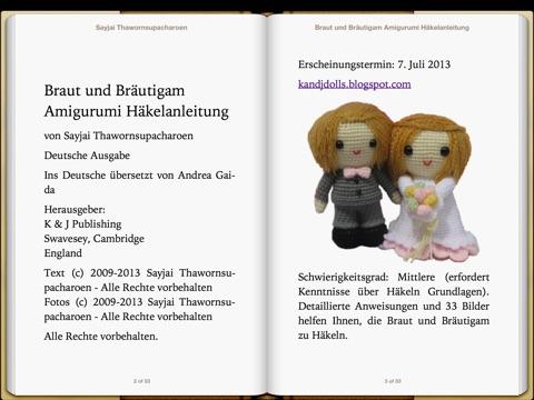 "Braut und Bräutigam Amigurumi Häkelanleitung"" von Sayjai ..."